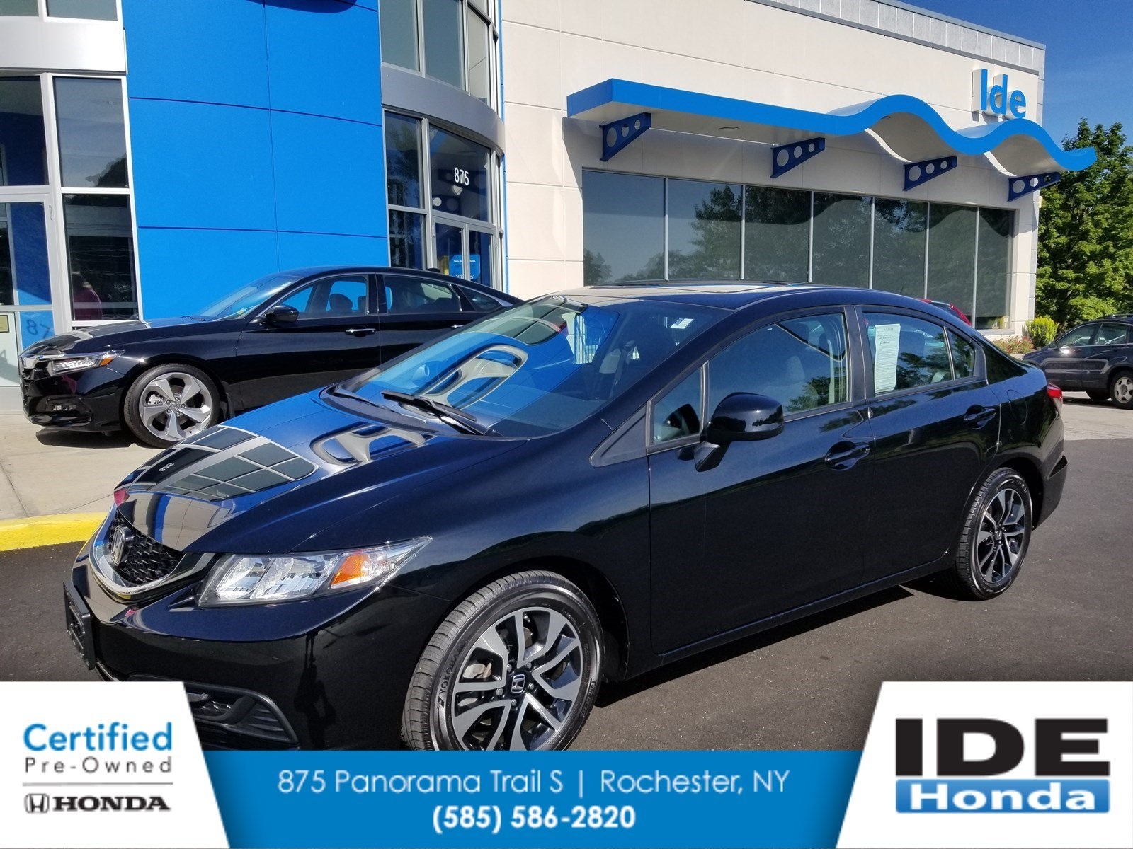 Pre Owned 2013 Honda Civic Sdn EX