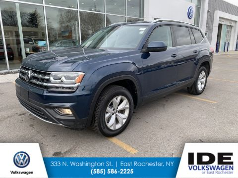 New 2019 Volkswagen Atlas 3.6L V6 SE AWD