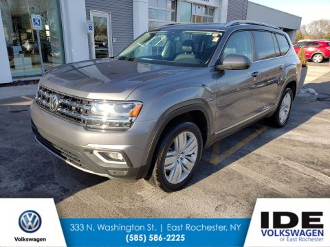 New 2019 Volkswagen Atlas 3.6L V6 SEL With Navigation & AWD