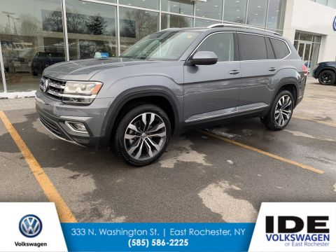 New 2019 Volkswagen Atlas 3.6L V6 SEL Premium With Navigation & AWD