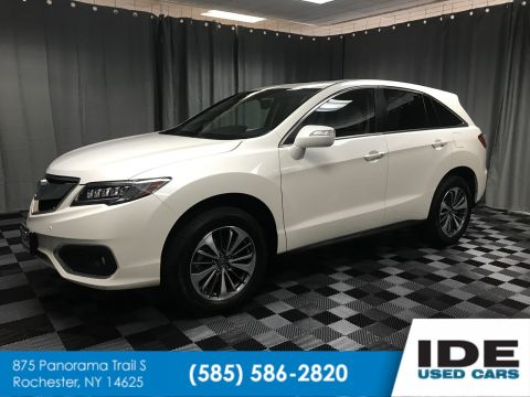 Pre-Owned 2018 Acura RDX w/Advance Pkg With Navigation & AWD