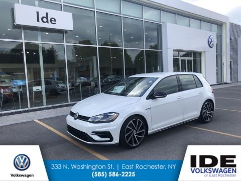 New 2019 Volkswagen Golf R With Navigation & AWD